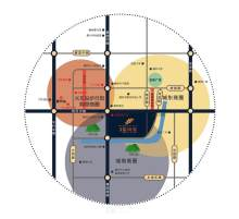 城建·金河湾配套图