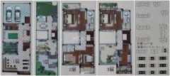 滨江御园别墅+底上四层+包过户费+可贷+前后带院