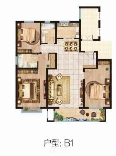 龙泉首府155平3是2厅2卫