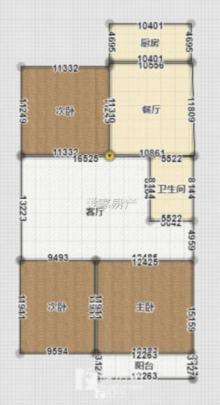 幸福佳苑 2楼精装三室 上北辛 满5可贷款