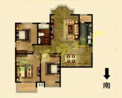 急!中央城C区 精装三室+拎包入住+两室向阳+新证可贷+可贷