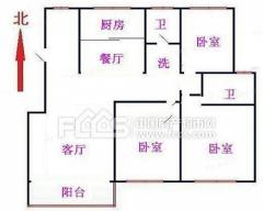 翠湖天地 电梯洋房 毛坯房三室 有钥匙可看房