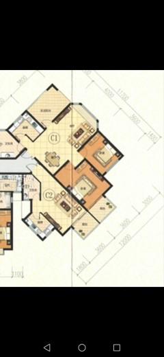 (城西)佳美广场1室1厅1卫47m²毛坯房