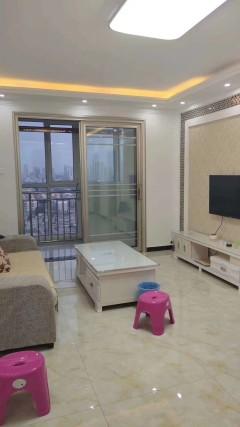 (市中心)九州清晏2室2厅1卫96m²豪华装修