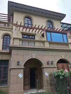 滨江御园别墅 抵账房 实际面积500多平 院子半亩 直接写名