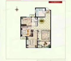 熙城国际诚园 112.5平方毛坯房 三室 有钥匙可贷款
