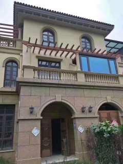 滨江御园别墅 实际面积500多平 直接写名 售楼部手续可贷款