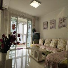 百合花园 楼层好精装修 客厅朝阳 落地窗 证满二年 可贷款
