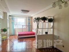 阳光国际 中装一室一厅 家具家电齐全 拎包即住 有暖气