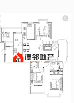 (城東)陽光國際4室2廳2衛142m2簡單裝修145萬