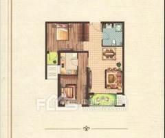 (市中心)大同国际2室2厅1卫85m²毛坯房 带车位,可贷款