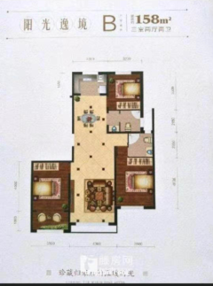 玫瑰园双子楼158m²毛坯房带车位储藏室142万