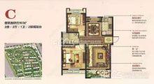 (城西)潤恒第一城,2室2廳1衛98m2,毛坯房,南北通透