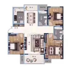 (城東)緹香郡 抵賬房 3室2廳142m2豪華裝修售樓處價格