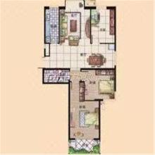 威尼斯二区 东户 包含家具家电和储藏室 经典户型 拎包即住