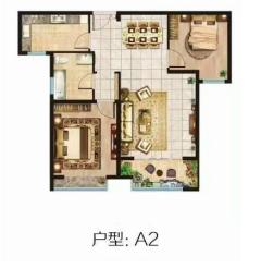 涵翠苑93平2室,15楼可贷款,即将满2年,远航水晶城旁