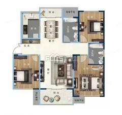 缇香郡精装抵账房,两室一厅朝阳,售楼处手续,可贷款