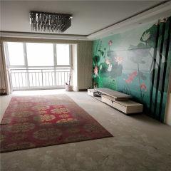 九州清宴前排无遮挡 三室两厅 南北双阳台 精装修 证齐可贷款