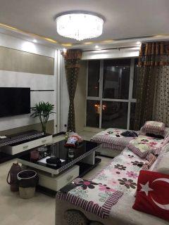 (市中心)九州清晏2室2厅1卫90m²豪华装修