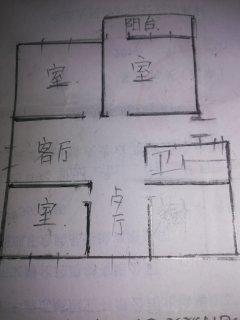 (市中心)幸福小区3室2厅1卫98m²豪华装修