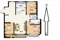 (城东)水善园3室2厅2卫170m²花园洋房