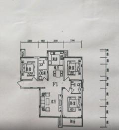 (城南)清华园 精装婚房 140平3室 中间楼层 可贷款