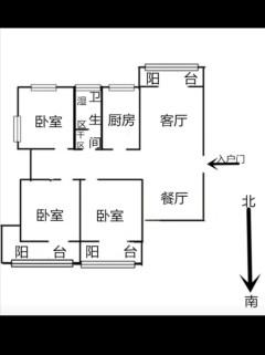 (城东)海上明月147.8m²毛坯房,证满两年,过户费低