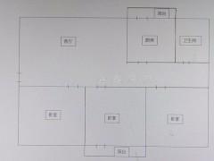 (城北)北安居小区3室2厅1卫91m²简单装修
