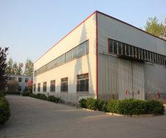 出租1500m²左右的钢结构厂房(库房)内有行吊
