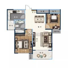 (城东)缇香郡二期 2室105平米 中间好楼层 可贷款