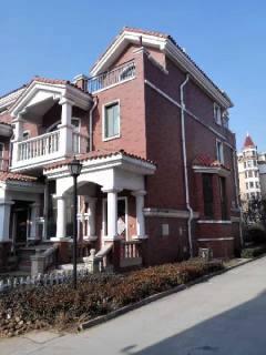 急售 西班牙庄园独栋别墅 上下5层毛坯5室带院带平台 可贷款