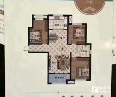 (城东)缇香郡3室1厅1卫131m²毛坯房