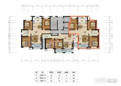 (城北)亿丰和馨园17+1复式130m²毛坯房 带车位储藏室