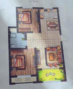(市中心)城建大同印象2室105m²毛坯底价转让