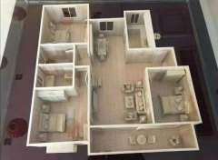龙泉湾电梯洋房135m²126万送车位,7楼东户