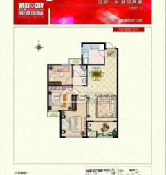 熙城国际115m²毛坯房,送车位储藏室,以上房有钥匙急售!