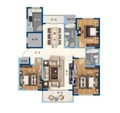 缇香郡二期精装148m²-售楼处手续可贷款