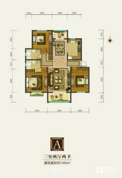 香舍水郡电梯洋房好楼层 小区环境好户型好 带33平大车库