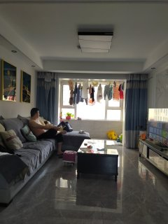 (城西)润恒第一城2室2厅1卫94.5m²豪华装修
