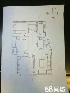(城西)香格里拉花园3室2厅,东户带东窗,送地上车库满五年急