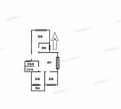 香格里拉,前排无遮挡,多层带车库,性价比高,98平92万