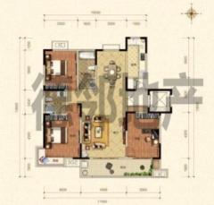 (城东)保利海德佳园3室2厅2卫146平方2900月精装修