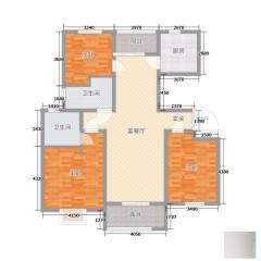 滕东,香舍水郡,电梯洋房,3室2厅2卫,好楼层,支持贷款