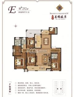 善国盛景一期:252平方售楼处手续,一楼带院可贷款,看房方便