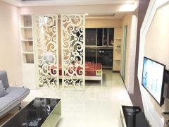 (市中心)爱家豪庭1室1厅1卫50m²豪华装修家具家电齐全