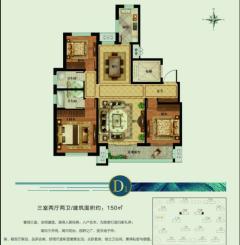 城建善国怡园:150平方稀缺户中间好楼层,售楼处手续实力办理
