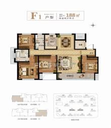 (城北)善国盛景·怡园4室2厅2卫188m²毛坯房