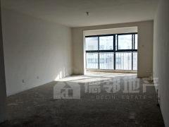 樱花苑3室2厅2卫144平毛坯房,连廊大阳台客厅卧室朝阳