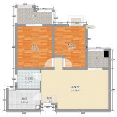 (城北)三盛星尚城3室2厅2卫