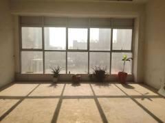 中央城C区  沿河观景房  毛坯房落地大窗户 全天采光 急售